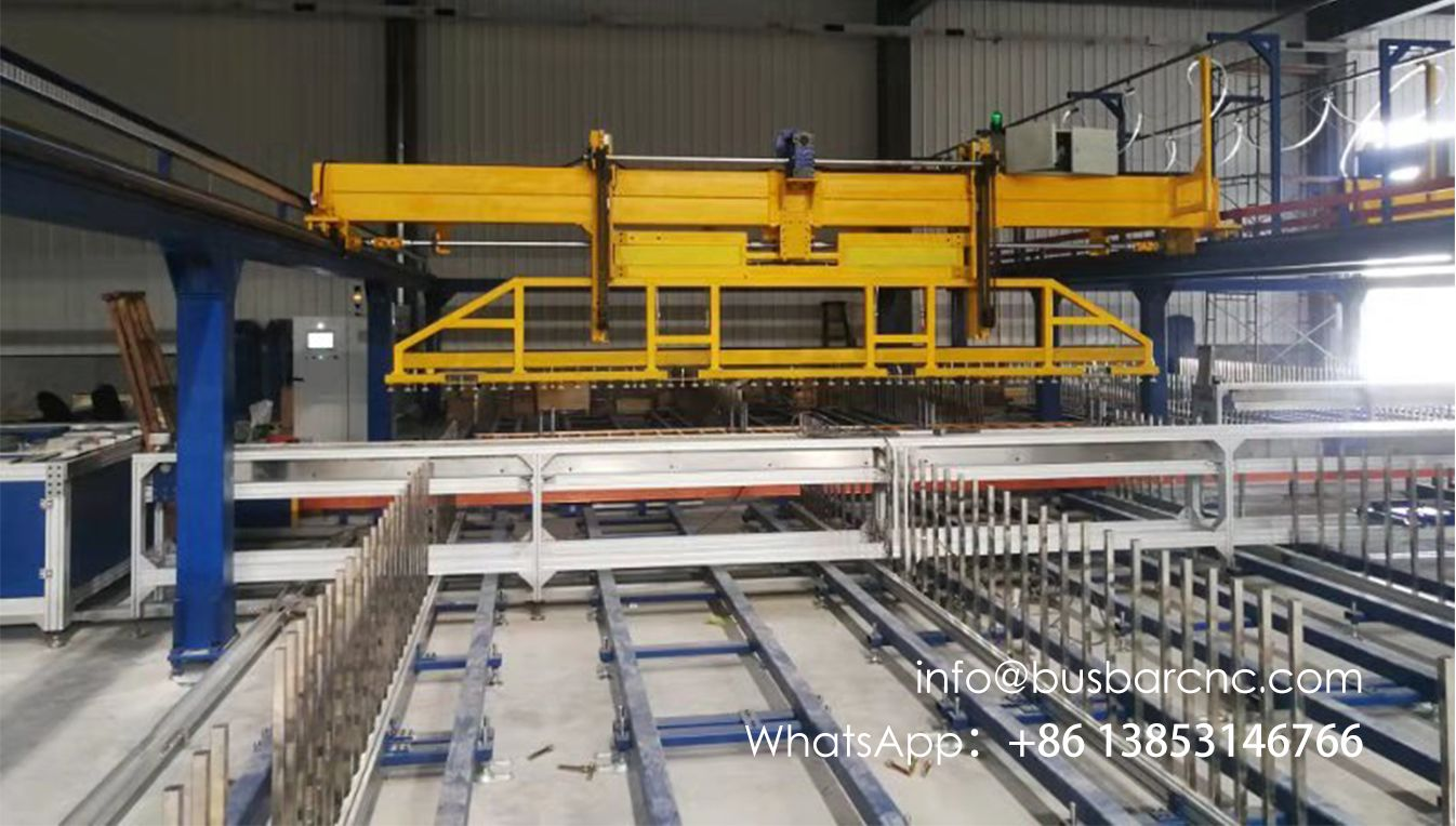Copper busbar Automated flat warehouse And integrated production line