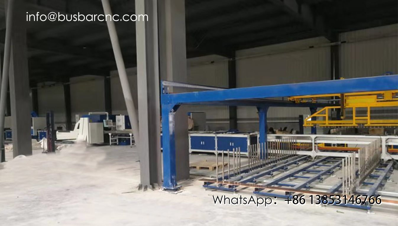 Copper busbar Automated flat warehouse integrated production line