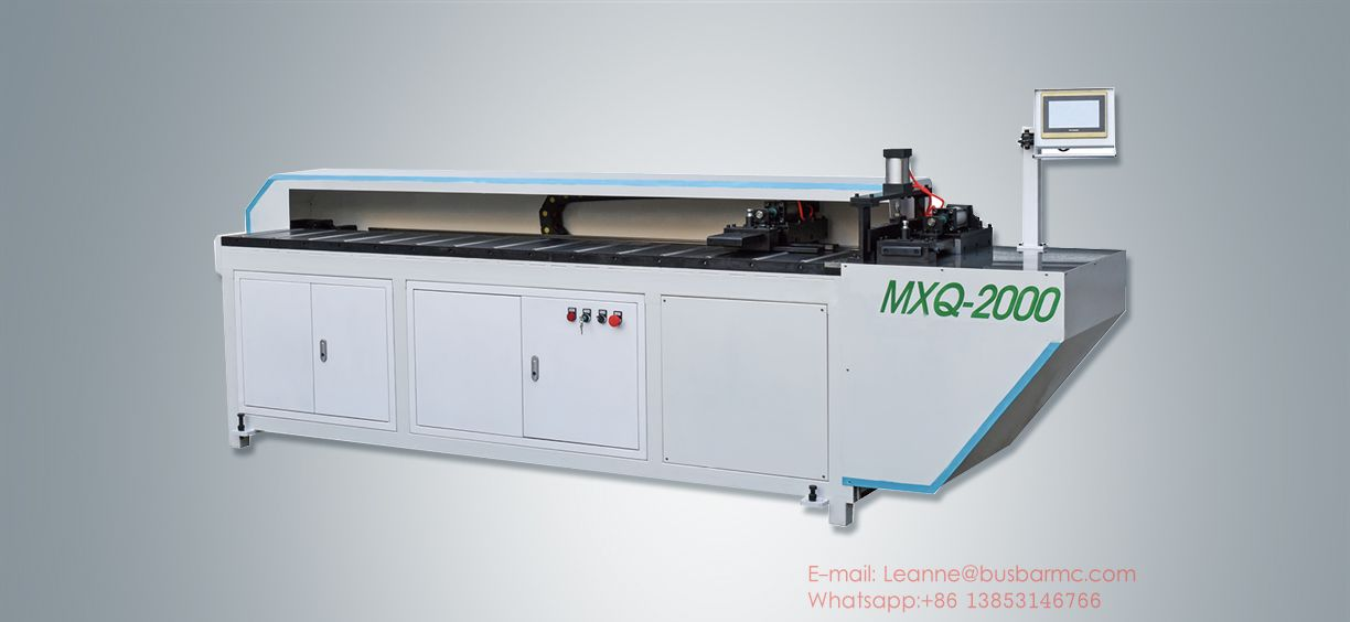 busbar sawing machine